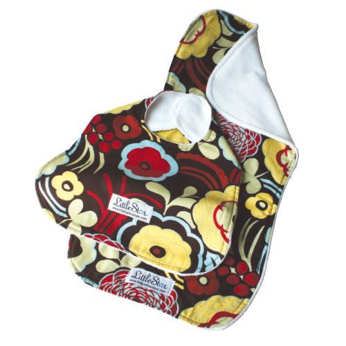 Little Star Bib & Burp Cloth set