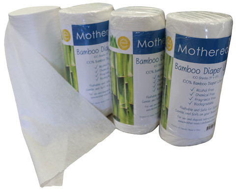 Mother Ease Flushable Bamboo Liners
