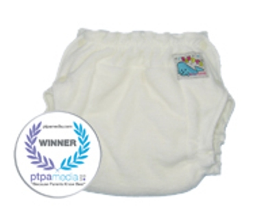 Mother Ease Sandy's Unbleached Fitted Diaper-Newborn - Click Image to Close
